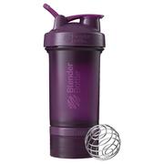 【2件0稅免郵】Blender Bottle 搖搖杯 ProStak 紫紅色 650ml+2個分裝盒