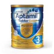 【補貨】Aptamil 澳洲愛他美 金裝加強型嬰幼兒配方奶粉 3段 1歲+ 900g