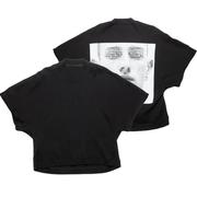 赤西仁喜愛日本潮牌!【限時高返】JULIUS 暗黑短袖T恤