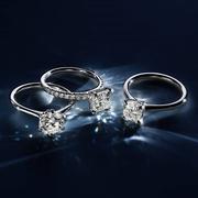 【55專享】Blue Nile 中國官網:精選 可發貨鑲鉆訂婚戒指 與銀聯攜手