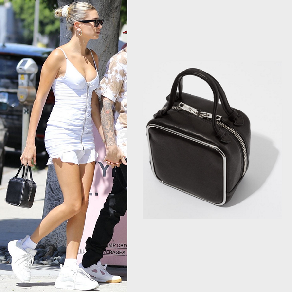 Hailey 同款3折!Alexander Wang 王大仁 Black Halo Top Handle Bag 手提包