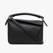 Loewe Mini Puzzle Bag 黑色迷你包包
