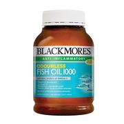 【免郵中國】Blackmores 澳佳寶深海魚油軟膠囊 1000mg 無腥味 400粒