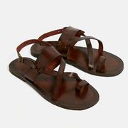 UO Leather Buckle Strap Sandals 平底搭扣皮革涼鞋