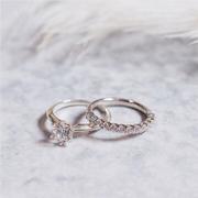 愛在七夕,限時特惠相約上線!Blue Nile 中國官網:精選 男女結婚戒指