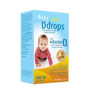 Ddrops 嬰兒維生素D3滴劑 400IU 90滴