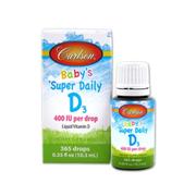 嬰幼兒常備~Carlson Labs 卡爾森 嬰兒維生素D3滴 10.3ml