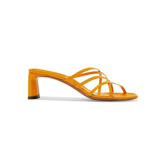 NEOUS Mannia 皮革涼鞋