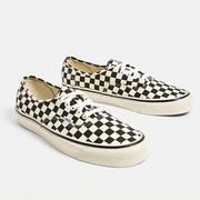 Vans 萬斯 Anaheim Factory Authentic 44 DX Checkerboard Trainers 棋格帆布鞋