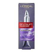 【中亞Prime會員】L'Oréal Paris 歐萊雅 復顏玻尿酸水光充盈眼霜 15ml*2支