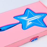 JEFFREE STAR 五角星手持鏡 限量電光藍