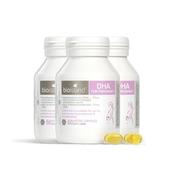 【包郵包稅】Bio island 孕婦 DHA 海藻油膠囊 60粒*3瓶