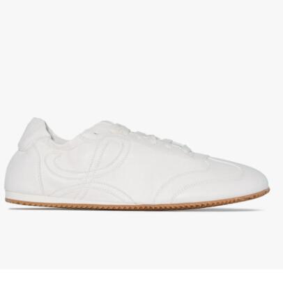 Loewe White Ballet Runner Sneakers 女士小白鞋