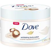 【第2件半價+滿$40額外8.5折】Dove 多芬 冰激凌身體磨砂膏 夏威夷果&米漿味 298g