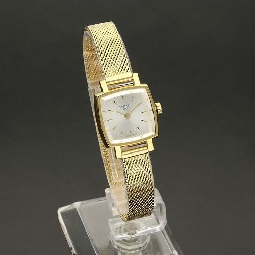【55專享】好價!Tissot 天梭 Lovely 系列 金色女士優雅腕表 T058.109.33.031.00
