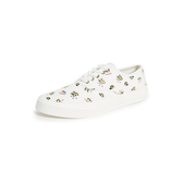 Maison Kitsune 檸檬印花小白鞋