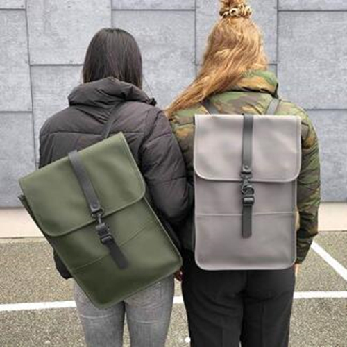 The Hut:精選 丹麥潮牌 RAINS 雙肩背包雨衣