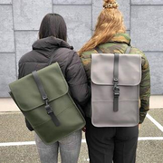 Mybag:精選 丹麥潮牌 RAINS 雙肩背包 軍綠色補貨