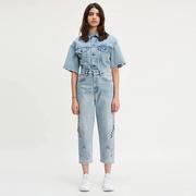 Levi's 李維斯  MADE & CRAFTED 鏤空直筒牛仔褲
