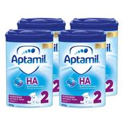 Aptamil 愛他美 HA 半水解免敏奶粉 2段 800g*4罐