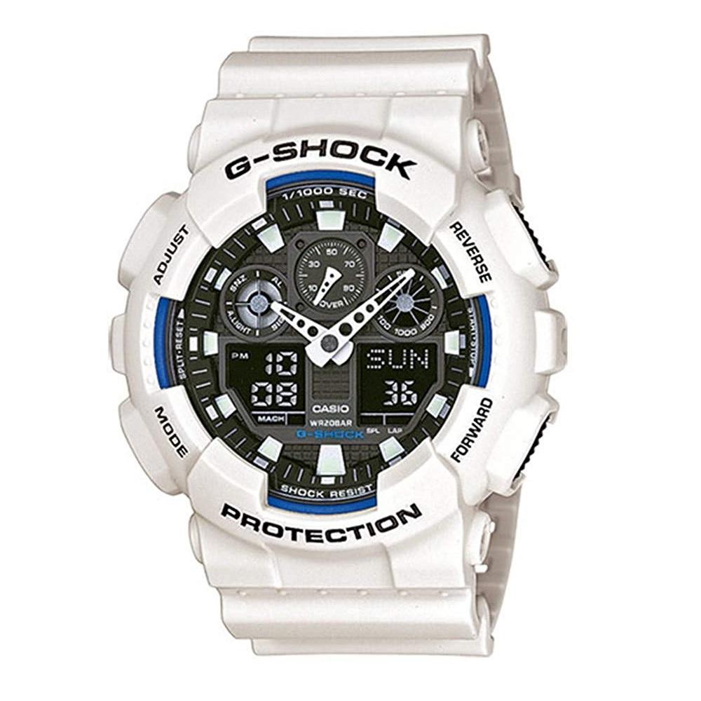 【中亞Prime會員】Casio 卡西歐 G-SHOCK GA-100B-7AER 男款時尚運動腕表