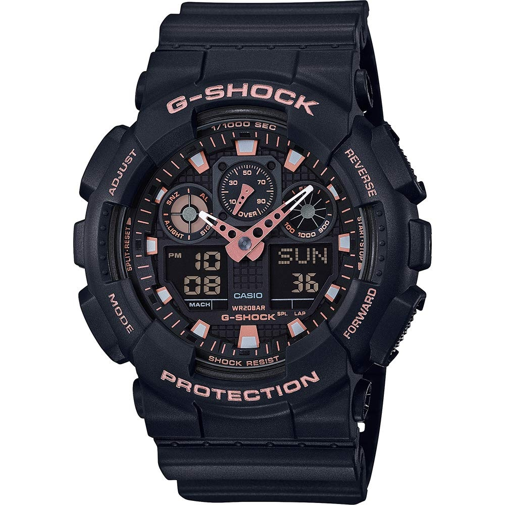 【中亞Prime會員】Casio 卡西歐 G-SHOCK 男款時尚運動腕表 GA-100GBX