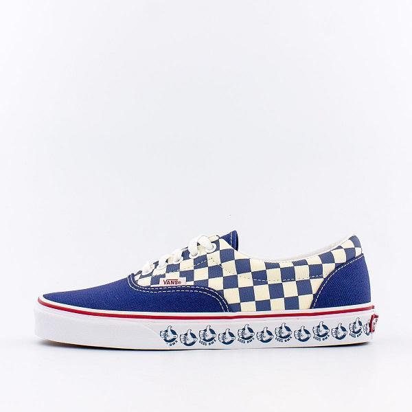 Vans BMX Era 藍白棋盤格板鞋