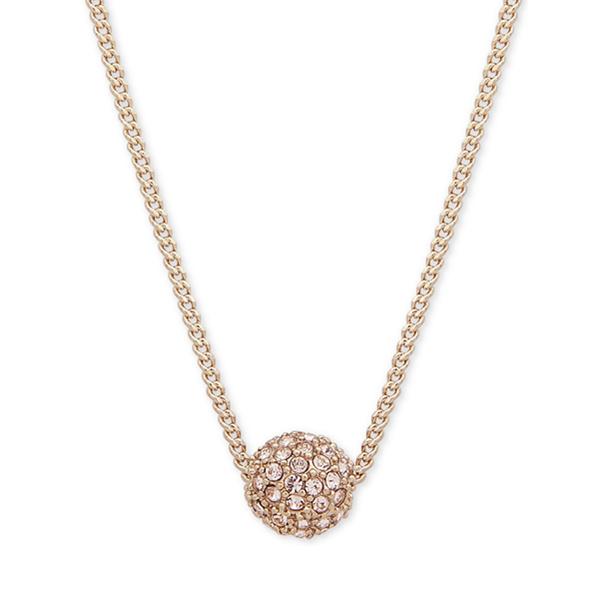 【玫瑰金有貨】Givenchy 紀梵希星球水晶項鏈