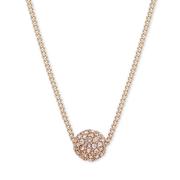 【三色】Givenchy 紀梵希 玫瑰金星球水晶項鏈
