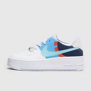 Nike Air Force 1 天藍色 SWOOSH 低幫空軍1號運動鞋
