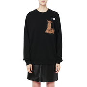 Acne Studios 動物刺繡圓領衛衣