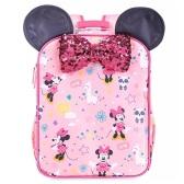Disney 迪士尼 米妮粉色兒童雙肩背包