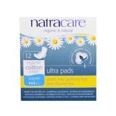 英國婦科醫生推薦!Natracare 至尊衛生護墊 有機棉柔表層 12片