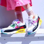 【直降80元】一件免郵!Nike Gilbert Baker 聯名款 Air Max 90 Betrue 彩虹款男女士運動鞋