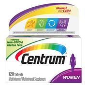 【第2件半價】CENTRUM 善存 女性復合維生素咀嚼片 120粒