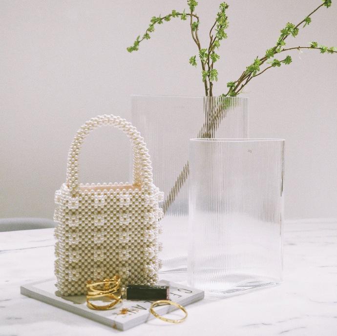 Shrimps Antonia Classic 珍珠手提包包