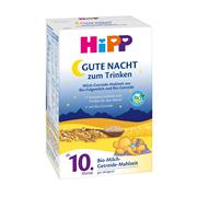 Hipp 喜寶 寶寶營養谷物晚安燕麥米粉米糊 10個月以上 500g*4盒