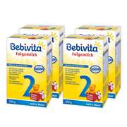 Bebivita 貝唯他 嬰幼兒奶粉 2段 500g*4盒