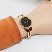 Calvin Klein 卡爾文·克萊因 Addict 系列 黑金配色女士時裝腕表 K7W2M511