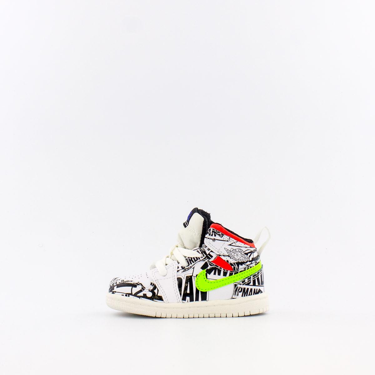 Jordan 1 Mid 幼兒籃球鞋