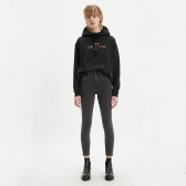 Levi's Mile High Super Skinny 铆钉修饰修身牛仔裤