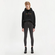Levi's Mile High Super Skinny 鉚釘修飾修身牛仔褲