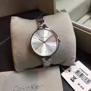 Calvin Klein 卡爾文·克萊因 銀色女士時裝腕表 K7E23146