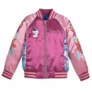 Disney 迪士尼 海洋奇緣 粉色女孩夾克外套