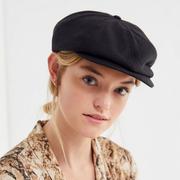 Brixton Brood Linen Snap Cap 八角帽