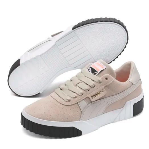 【額外5折】Puma 彪馬 Cali Suede 女子板鞋