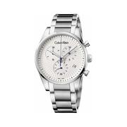 Calvin Klein 卡爾文·克萊因 Steadfast 系列 銀色男士時裝腕表 K8S27146