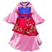 滿額享8折!Disney 迪士尼 花木蘭 兒童服裝