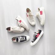 提前入場!Converse 英國官網:精選 Comme des Gar?ons Play x Converse 聯名款 帆布鞋