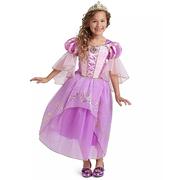 滿額享8折!Disney 迪士尼 長發姑娘兒童全套服裝